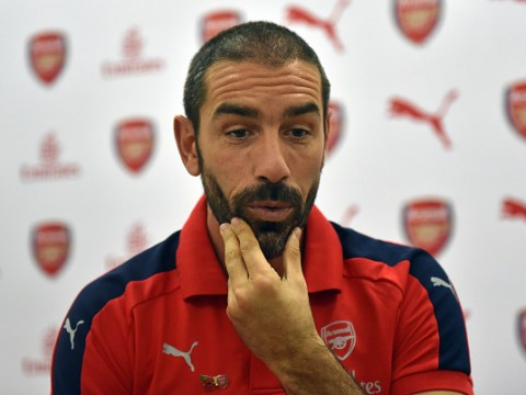 Arsenal legend Robert Pires expresses 'disappointment' over Aaron Ramsey exit