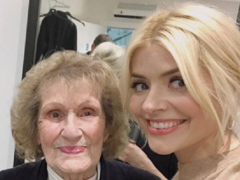 Holly Willoughby says 'goodbye for a little while' to beloved Nan as she pulls out of This Morning