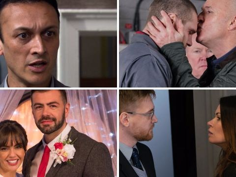 12 soap spoiler pictures: Coronation Street tragedy latest, EastEnders death danger, Emmerdale bombshell, Hollyoaks blackmail