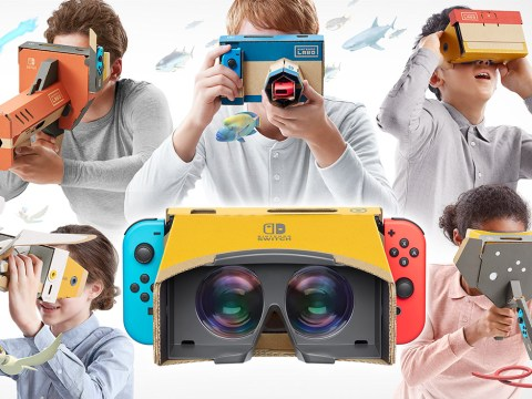 Nintendo Labo Toy-Con 04: VR Kit review – better than you'd think