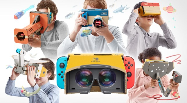 Game review: Nintendo Labo Toy-Con 04: VR Kit is surprisingly great