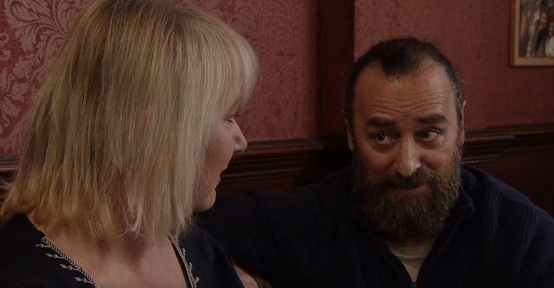 Jan fancies Eileen in Coronation Street