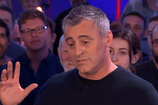 Top Gear's Matt LeBlanc