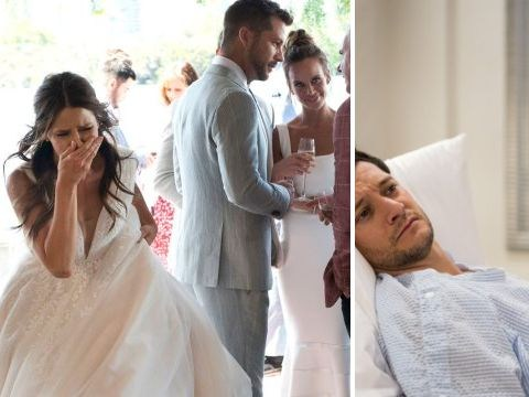 Neighbours spoilers: Elly runs out of her wedding and Finn Kelly wakes from his coma