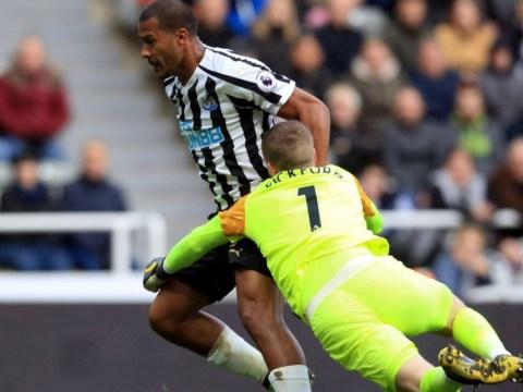 Alan Shearer slams terrible decision as Jordan Pickford escapes red card against Newcastle