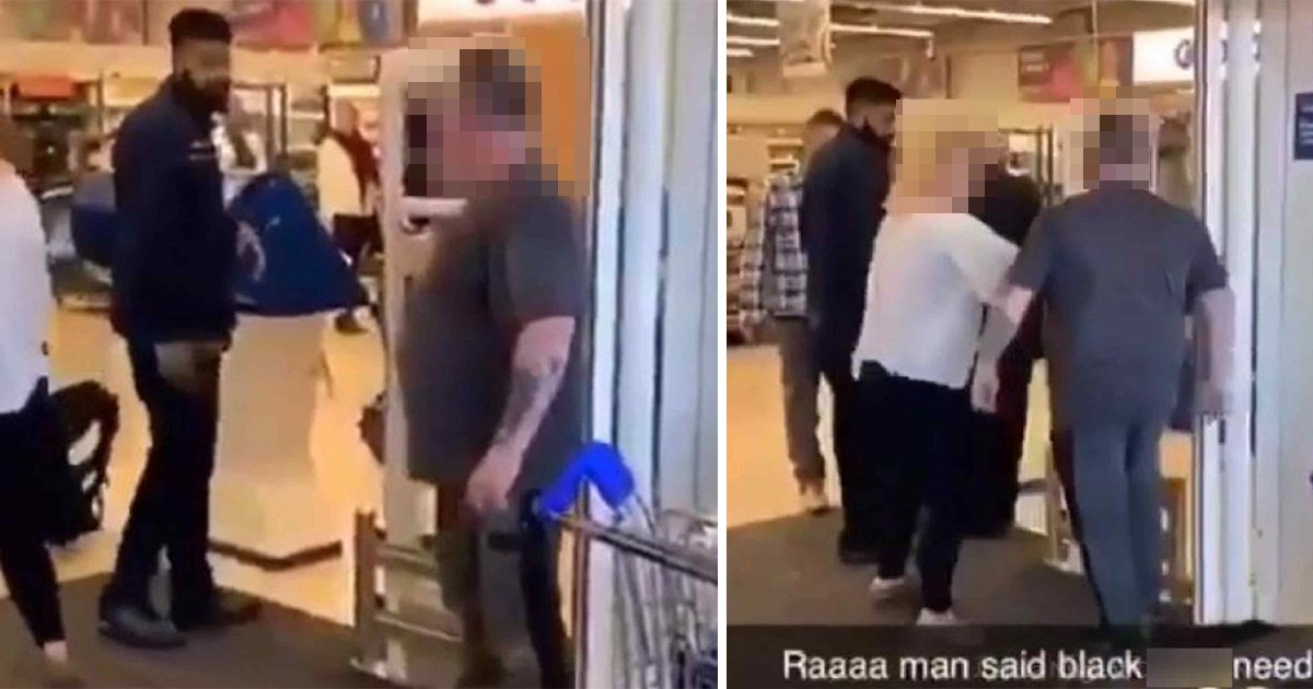 Tesco security guard called black c*** after trying to stop 'shoplifter'
