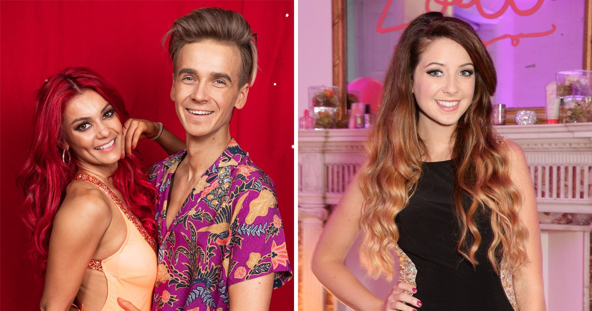 Joe Sugg predicted he'd get Strictly girlfriend before meeting Dianne Buswell and took advice from sister Zoella