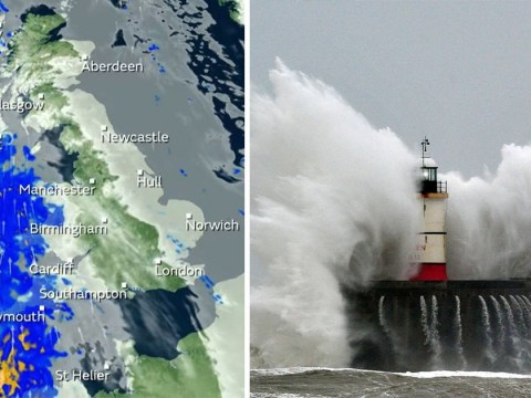 Get ready for Storm Freya to batter Britain with 80mph winds
