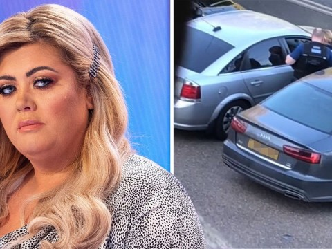 Gemma Collins calls police after she alleges a man who called her a 'fat c***' found her home