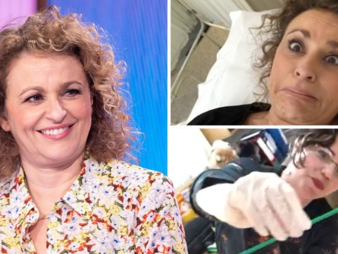 Nadia Sawalha filmed smear test to put Loose Women viewers at ease and we salute her for it