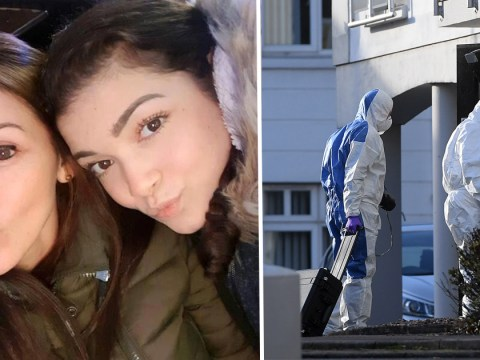 Mother and daughter, 15, found dead in flat were strangled, say police
