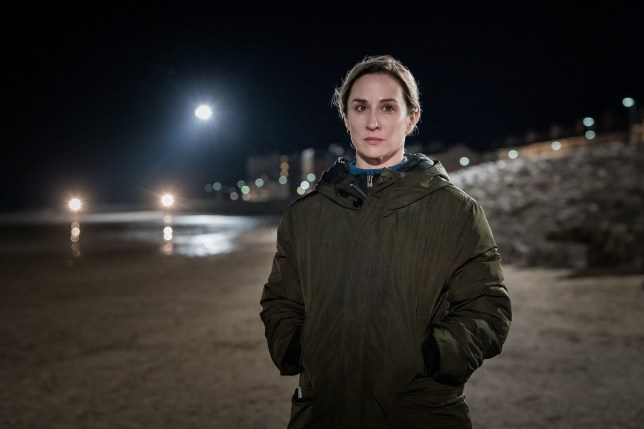 morven christie as DS lisa armstrong