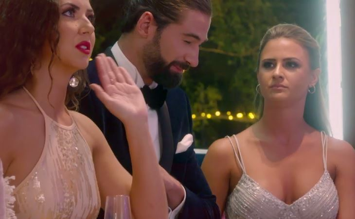 The Bachelor UK contestants all turn on Alex after he gives rose to new girl and 'liar' Charlotte T, which is fair