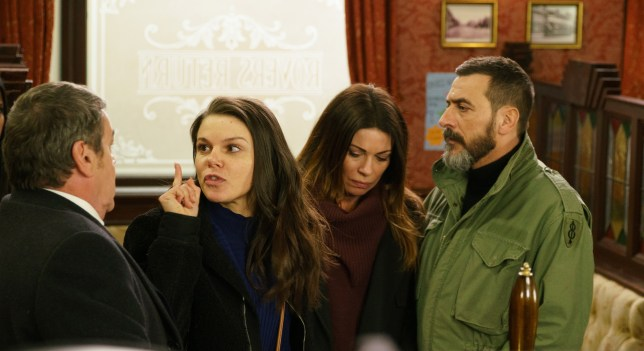 Kate is angry in Coronation Street