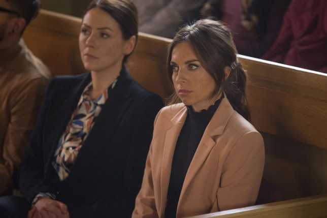Ruby listens in court in EastEnders