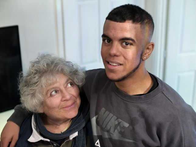 Miriam Margolyes and Tyreese in Dead Good Adventure