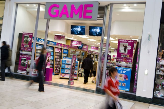 The high street is becoming less and less important to video games