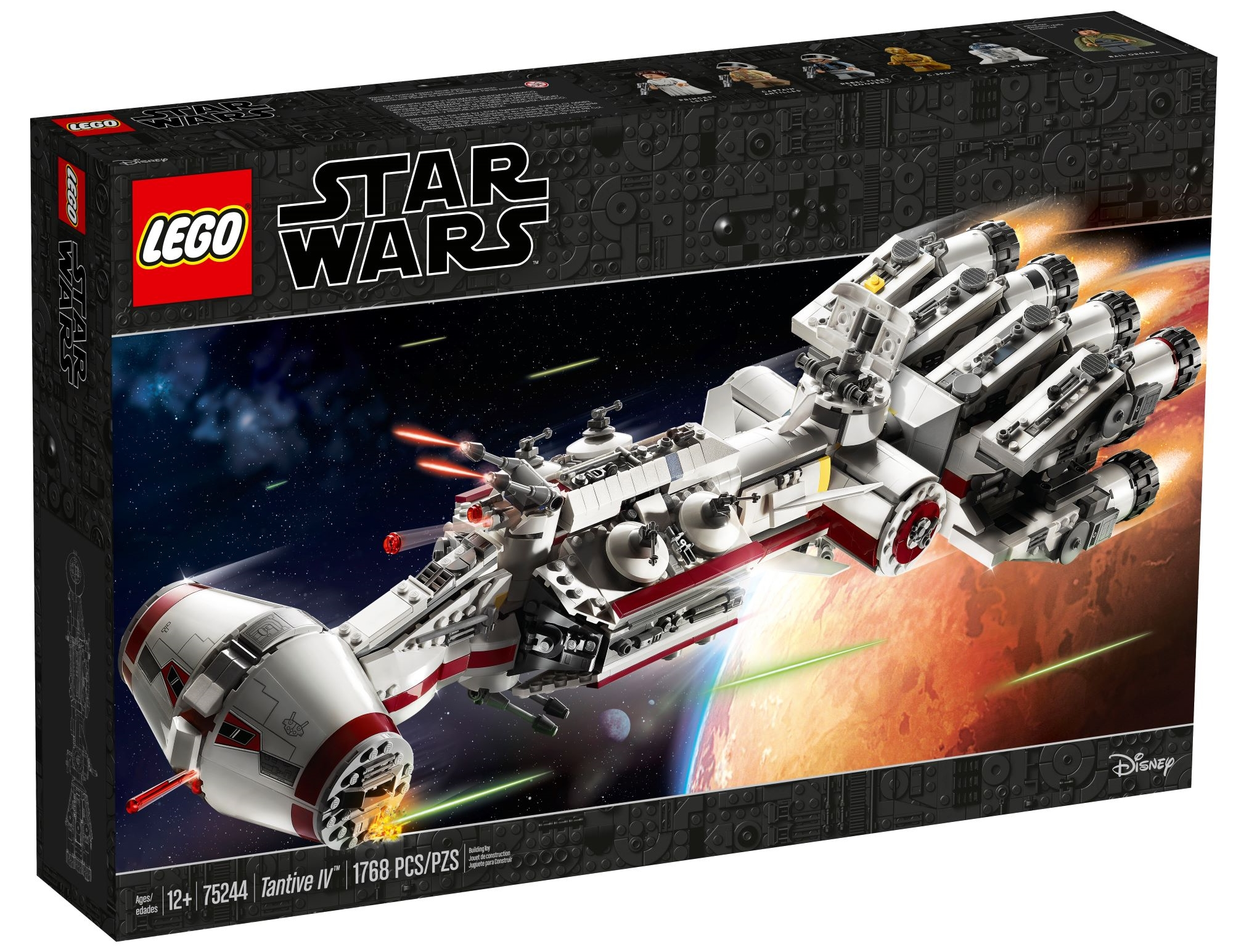 Lego Star Wars celebrates 20th anniversary with Tantive IV special edition set