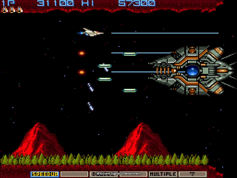 Arcade Classics Anniversary Collection (PS4) - call it Gradius or Nemesis, it's still a classic