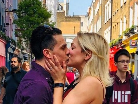 Ex EastEnders star Aaron Sidwell announces engagement to girlfriend Tricia Adele Turner