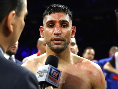 Amir Khan insists his intention was to continue after low blow before coach intervention