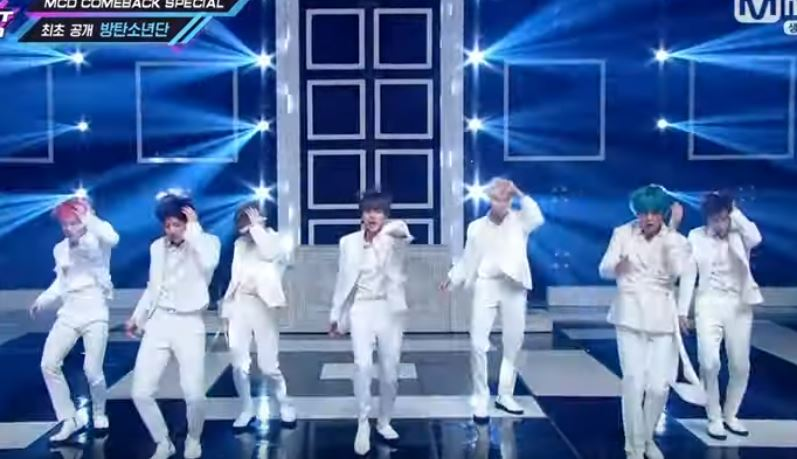 BTS make eagerly-awaited comeback stage on M Countdown with three new songs