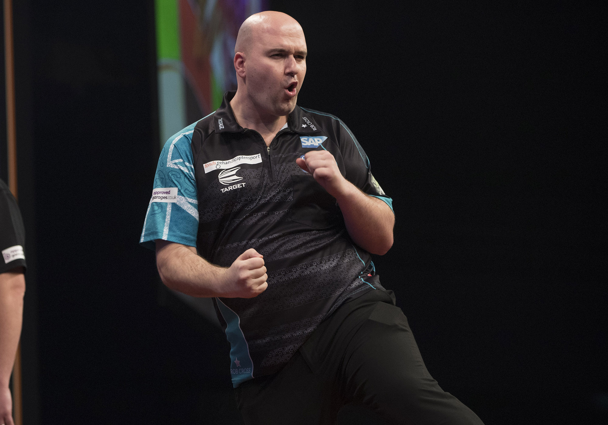Rob Cross promises to 'go out and win everything' after battling tonsillitis and Peter Wright to Premier League win