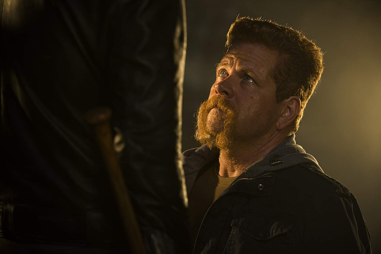 Michael Cudlitz as Abraham Ford in TWD (Picture: AMC)