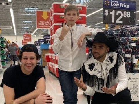 David Dobrik, Brother Nature and the Yodelling Kid join forces to 'save the internet'