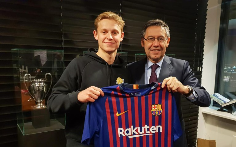Frenkie De Jong will be a Barcelona player next season