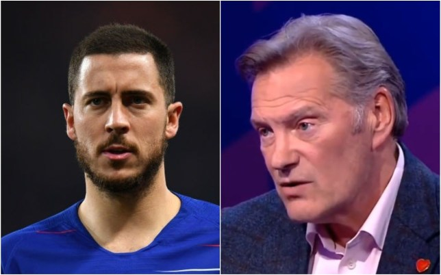 Eden Hazard has been told to leave Chelsea this summer by Glenn Hoddle