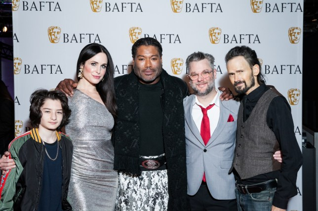 The cast and crew of God Of War have plenty to celebrate (pic: BAFTA/Gabi Torres)