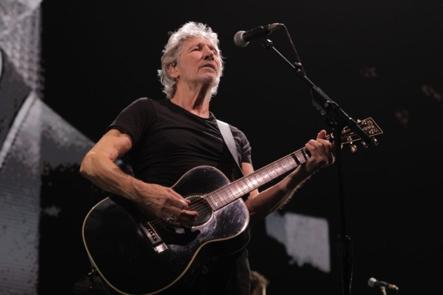 Roger Waters performs in Russia
