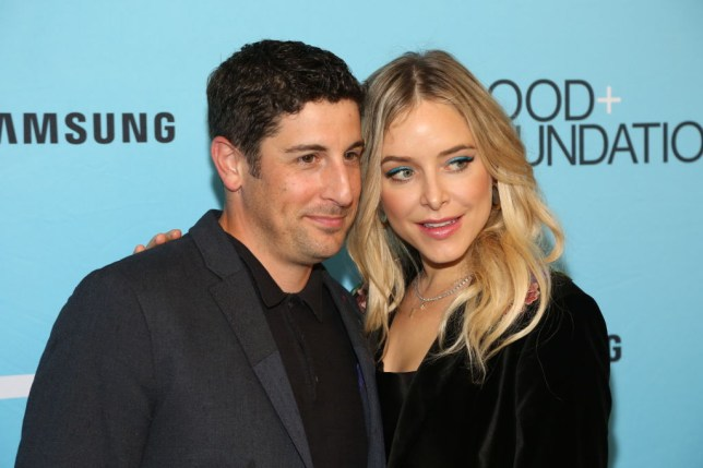 American Pie star Jason Biggs' son 'recovering nicely' after wife dropped him causing fractured skull