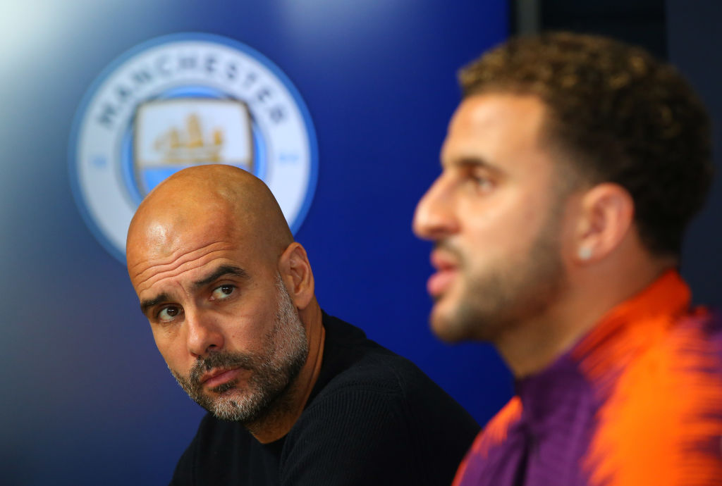 Pep Guardiola reveals Man City could be without one key defender to face Tottenham