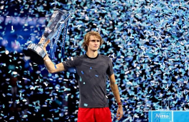 Zverev won last year's ATP Finals