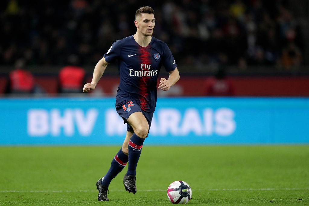 Thomas Meunier is reportedly on Manchester United's transfer shortlist