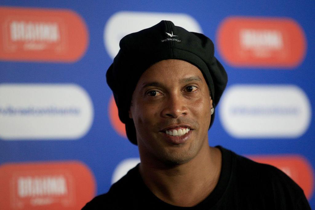 Ronaldinho retired in 2015
