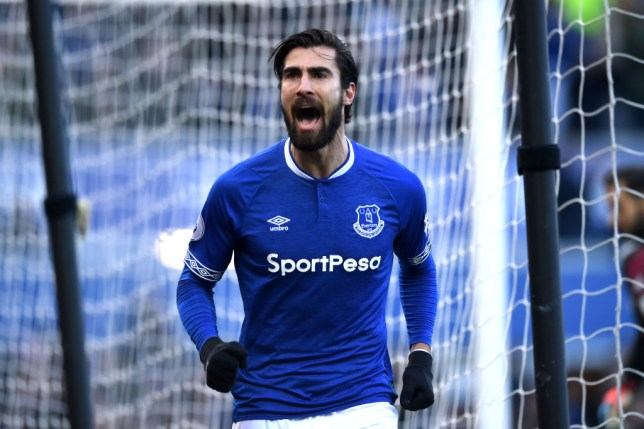 Arsenal are targeting Barcelona midfielder Andre Gomes who is on loan at Everton