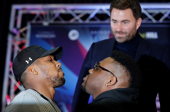Eddie Hearn is penetrating to find a deputy warrior to face Anthony Joshua