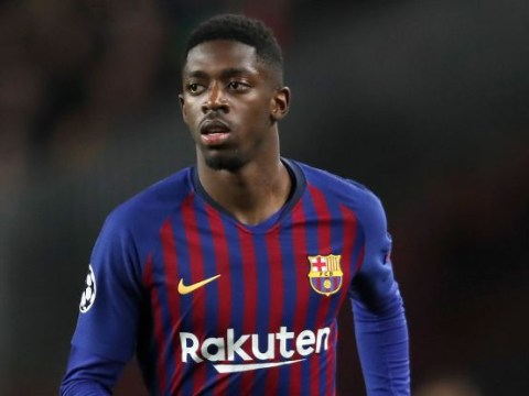 Ousmane Dembele returns to Barcelona training ahead of Manchester United trip