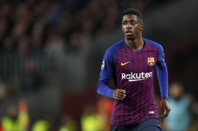 separation shoes 2bd04 8bedd Barcelona news: Ousmane Dembele winning race to be fit for ...