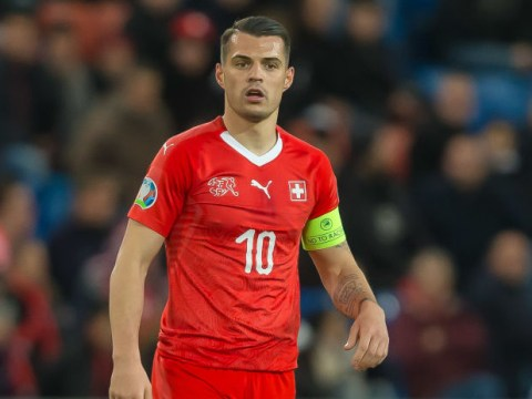 Granit Xhaka 'working hard to get back on the pitch as soon as possible'