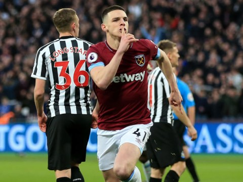 West Ham waiting for Manchester United to lodge transfer bid for Declan Rice