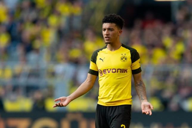 Manchester United are plotting a move for Borussia Dortmund star Jadon Sancho