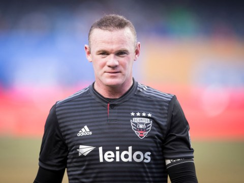 Watch Wayne Rooney get red card for horrific challenge after VAR review