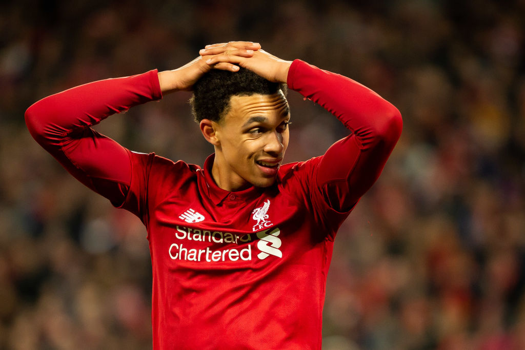 Trent Alexander-Arnold will be supporting Manchester United against City on Wednesday