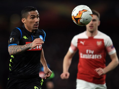 Arsenal 'always suffer' away from home, says Napoli star Allan