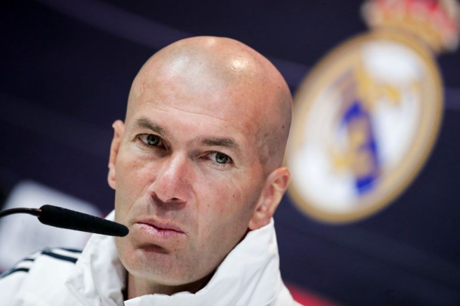 Zinedine Zidane wants to bolster his Real Madrid squad this summer