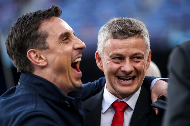 Gary Neville was furious with Manchester United's display against Everton